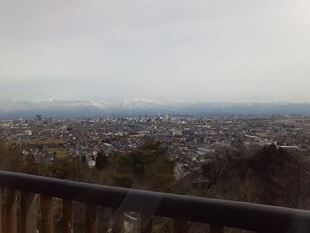 富山市内の眺め